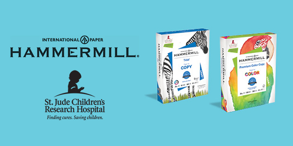 Join Hammermill Paper in Supporting St. Jude Children's Research Hospital
