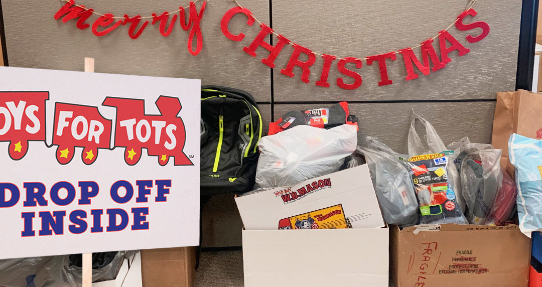 Talient Action Gives Back: Toys for Tots, NH Food Bank, and The Liberty House