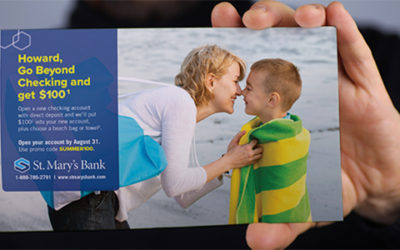Variable Data Print for Bank Marketing